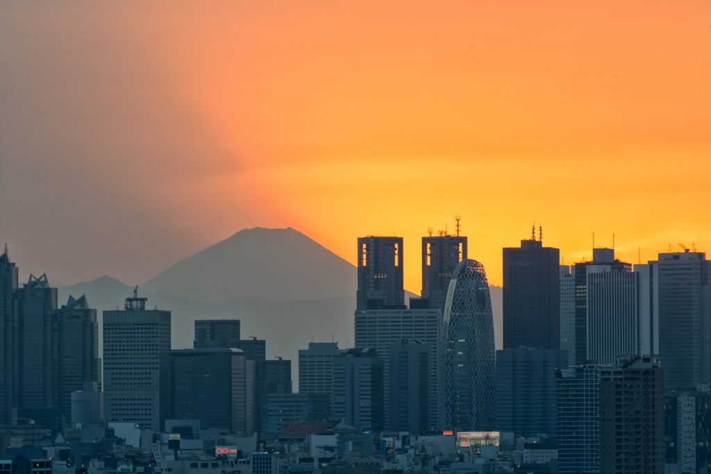 YUGA KURITA 文京シビックセンター Bunkyo Civic Center Mount Fuji 富士山 展望台 Observation Deck YUG_4147-Edit