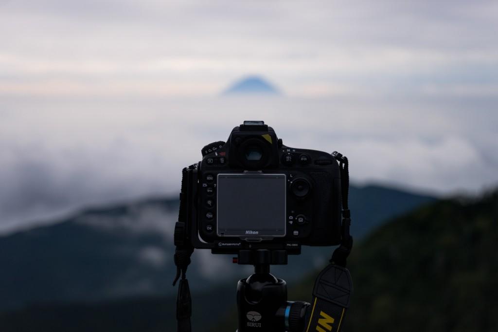Yuga Kurita Mount Fuji from Mount Kokushigadake DSC02089