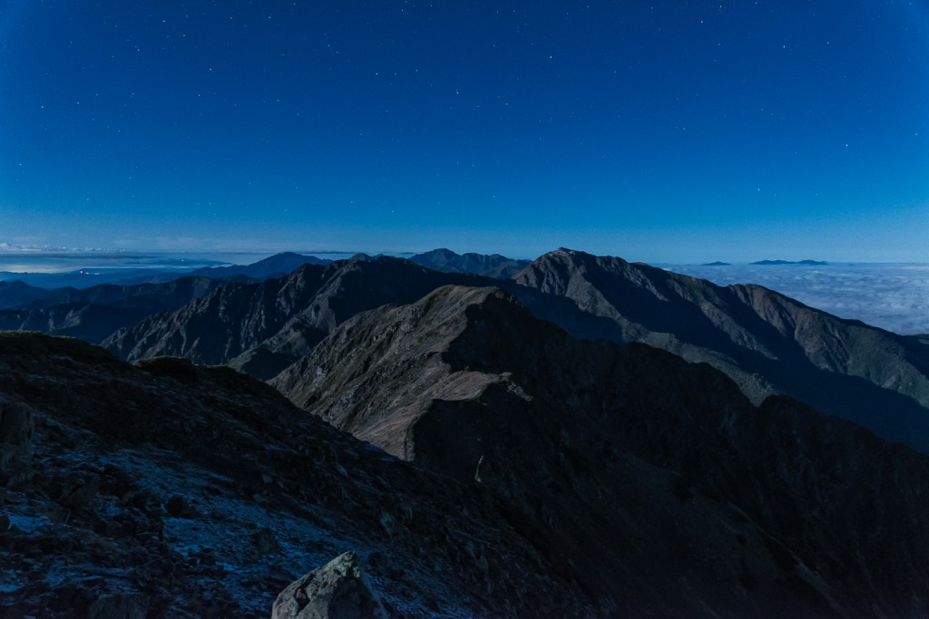 Yuga Kurita Mount Akaishidake South Alps Japan Night_9E40335