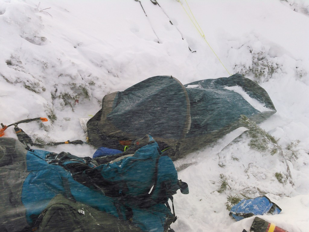 Yuga Kurita Bivouac Southern Alps KIMG0100