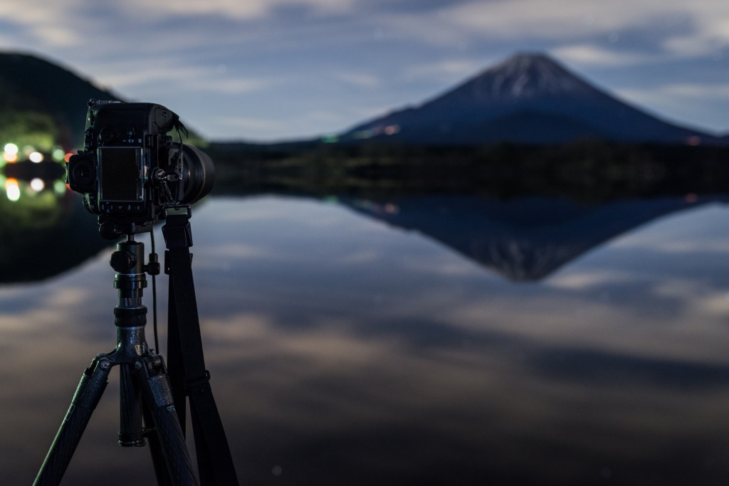 Shooting Fujisan with the Gitzo GT2545T captured with the Nikon D800E + SIGMA 35mm f/1.4DG HSM | Art